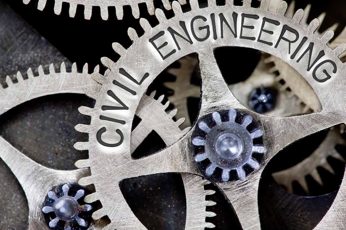 Civil Engineering gear graphic